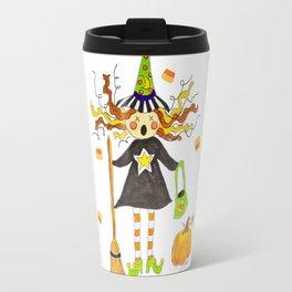 Raining Candy Corn Travel Mug