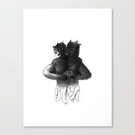 Siamese[lect] Canvas Print