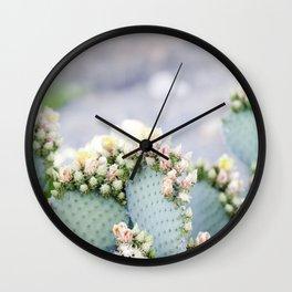 Dreamy Cactus Wall Clock