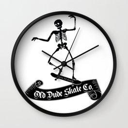ODS Grinding Skeleton Wall Clock