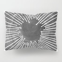 Black and White Circle Pillow Sham
