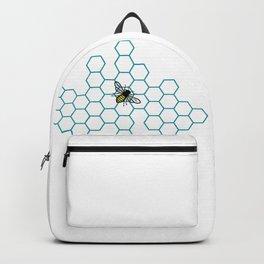 Honeycomb Bee Backpack