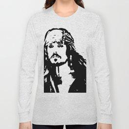 pirates caribbean sea Long Sleeve T-shirt