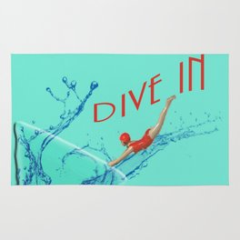 Dive In Head First Rug