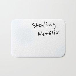 stealing netflix Bath Mat