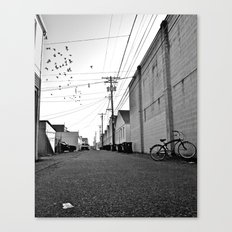 Alleyway scene Canvas Print