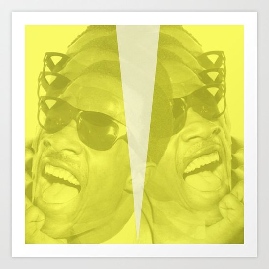 Stevie Wonder - Innervisions Art Print