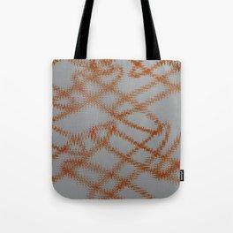 Orange Frizz Tote Bag