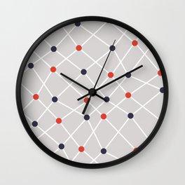 Chemistry Class Doodles Wall Clock
