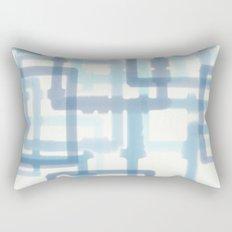 Abstract Winter Rectangular Pillow