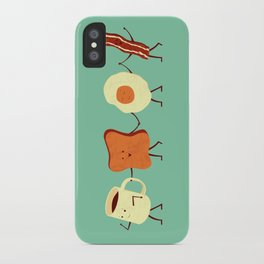 Let's All Go And Have Breakfast iPhone Case
