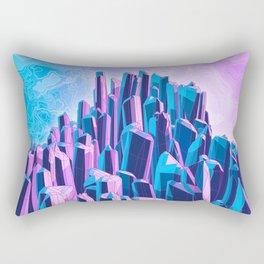 Crystal Peak Rectangular Pillow