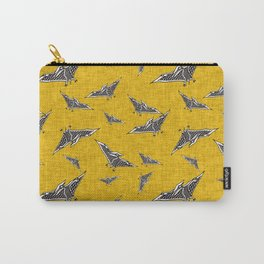 pterosaur flying dinosaur yellow Carry-All Pouch