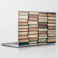 bookworm Laptop & iPad Skins featuring Bookworm by Laura Ruth