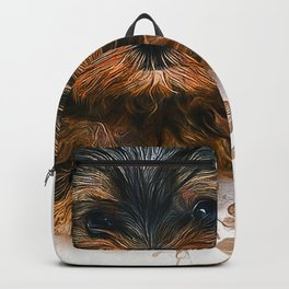 Yorkshire Terrier Puppy Backpack