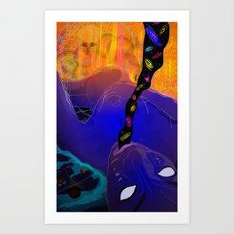 Dziva Art Print