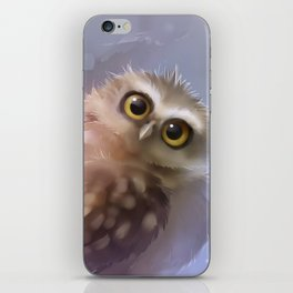Burrowing Owl iPhone Skin