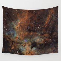 Gamma Cygni Nebula Wall Tapestry