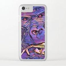Feeding Gorilla Clear iPhone Case