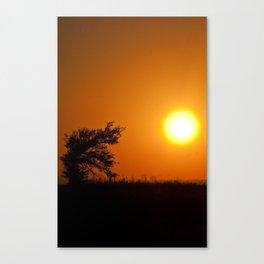 East Biloxi Sunset Canvas Print