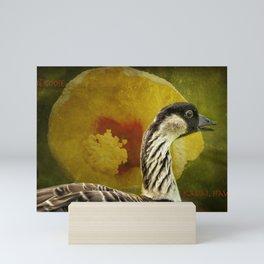 Nene Goose Mini Art Print