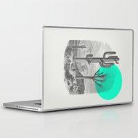 cacti Laptop & iPad Skins featuring Cacti by Zeke Tucker