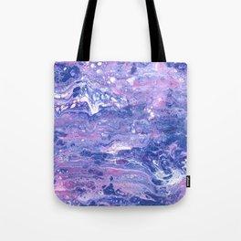 Purple Planet Tote Bag