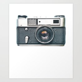 Retro Vintage Camera Art Photography Gift Art Print
