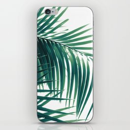 Palm Leaves Green Vibes #6 #tropical #decor #art #society6 iPhone Skin