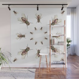 Les Fly Wall Mural