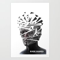 blade runner Art Prints featuring Blade Runner by Andy Pugh