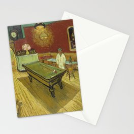 The Night Cafe by Vincent van Gogh Stationery Cards