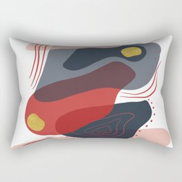 Modern minimal forms 8 Rectangular Pillow