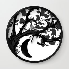 The Zen Tree Wall Clock