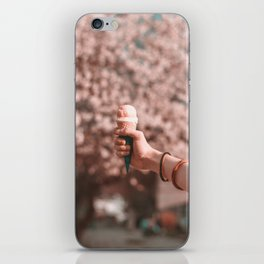 Strawberry Ice Cream (Color) iPhone Skin