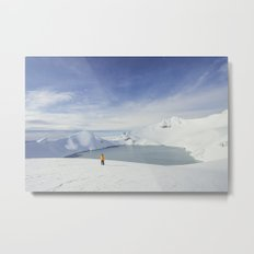 The crater Metal Print
