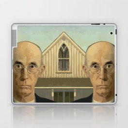 Gay American Gothic - LGBT Marriage Equality Laptop & iPad Skin