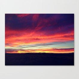 Sky Fire I Canvas Print