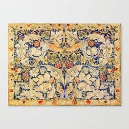 """William Morris """"Acanthus and vine"""" 1. Canvas Print"""