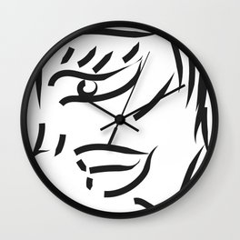 profile minimal sketch Wall Clock