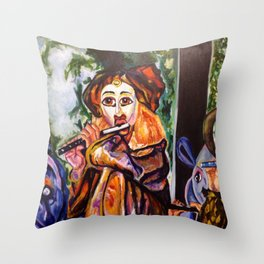 Just Whistle Throw Pillow