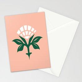 Ajrak Woodblock Floral Print Stationery Cards