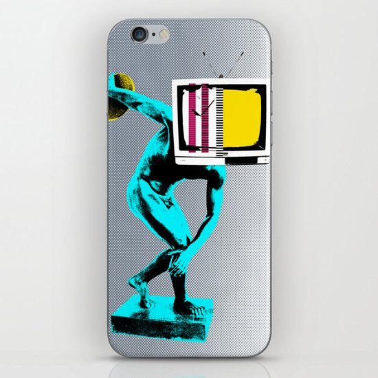 Diskus TV iPhone & iPod Skin
