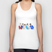 one direction Tank Tops featuring One Direction by Natasha Ramon