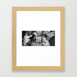 Kreep Zoo Framed Art Print