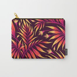 Waikiki Palm - Orange Carry-All Pouch