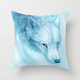 Bango Wolf Throw Pillow