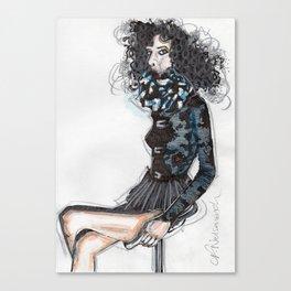 Queen B Canvas Print