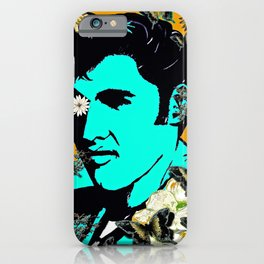 Flowers For The King of Rock and Roll iPhone Case