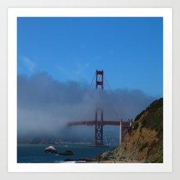 Golden Gate Brigde Art Print